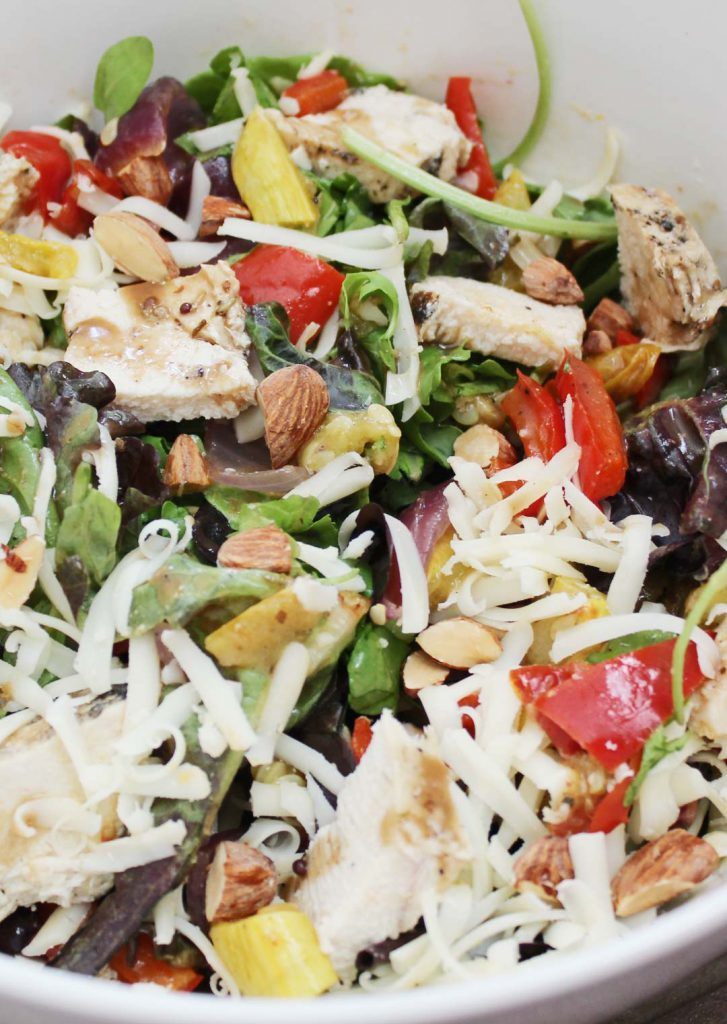 This salad will make you want to eat the whole bowl.