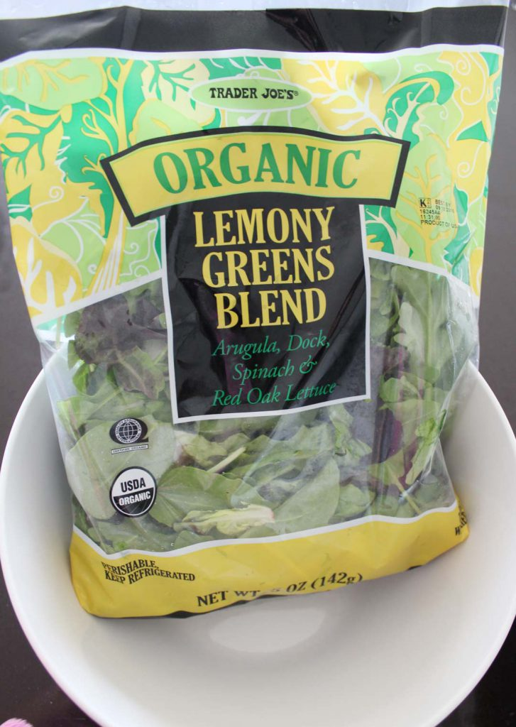 These are nice. A little lemony. I guess that is the point. I like this salad with romaine or spinach too.