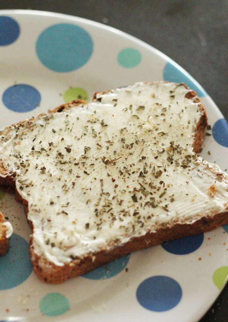 Cream Cheese is a great addition to a grilled cheese because it becomes very soft and saucy.