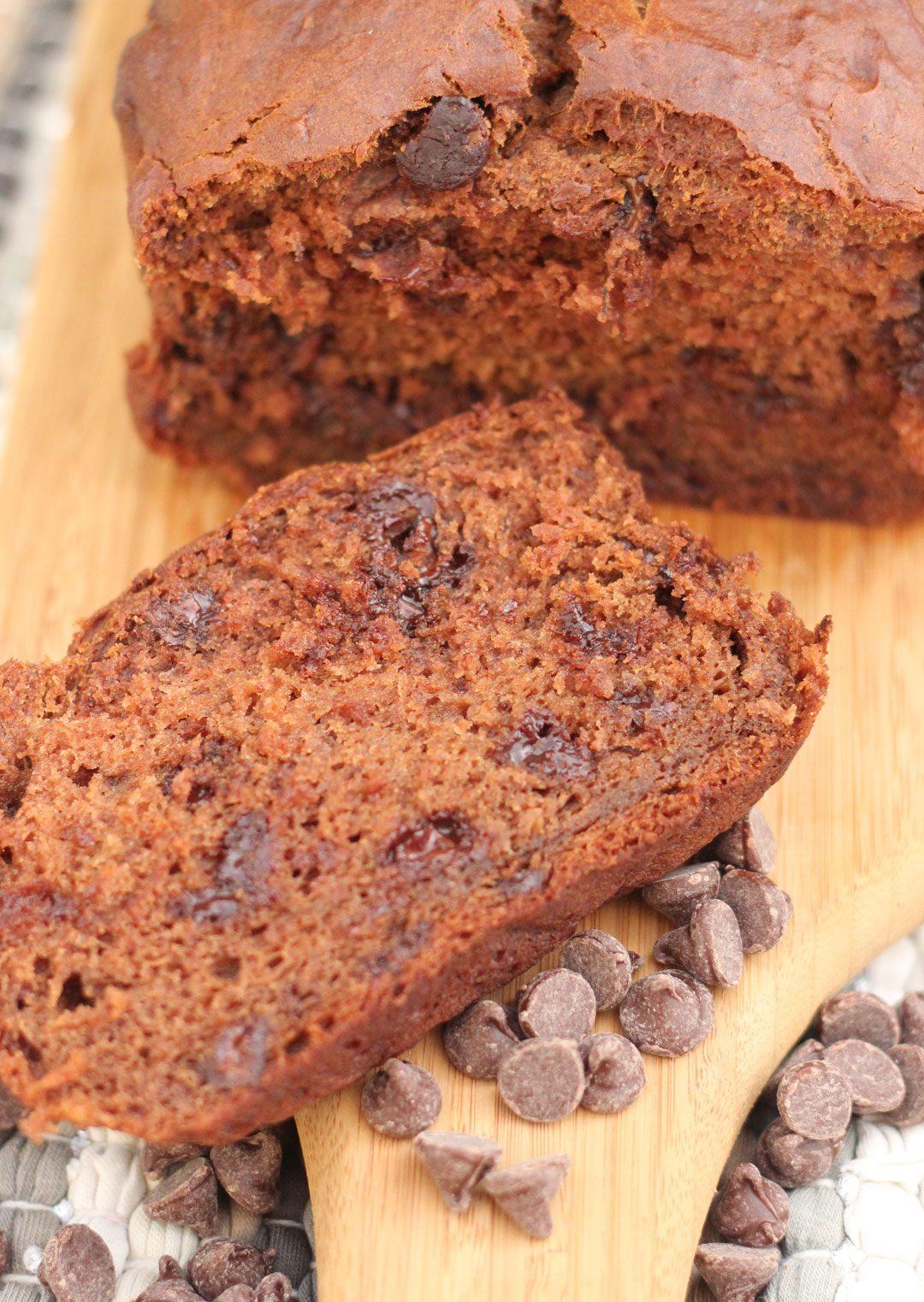 The Best Chocolate Banana Bread   Gutsy Gluten Free Gal ...