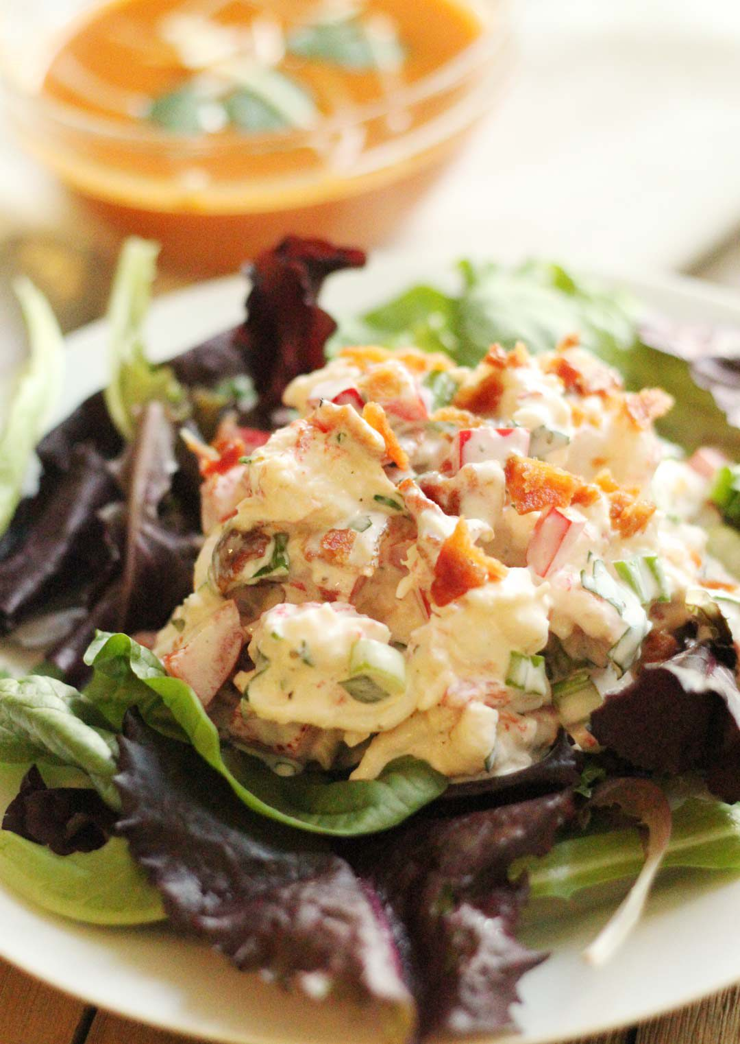 Creamy Lobster Salad | Gutsy Gluten Free Gal - Delicious food without the gluten